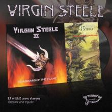 VIRGIN STEELE - GUARDIANS OF THE FLAME (2018 DELUXE EDITION 2-COVER SLEEVES VERSION) LP (NEW)