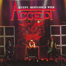 ACCEPT - RESTLESS & WILD (JAPAN EDITION) CD