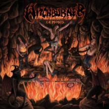 WITCHBURNER - DEMONS (LTD EDITION BLACK/RED VINYL, GATEFOLD +POSTER) LP (NEW)