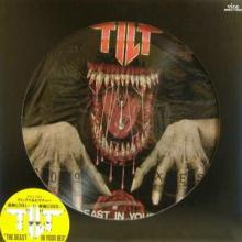 TILT - THE BEAST IN YOUR BED (LTD JAPAN EDITION PICTURE DISC +OBI STICKER) LP