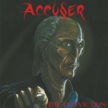 ACCUSER - THE CONVICTION (LTD EDITION 100 COPIES, RED VINYL) LP (NEW)