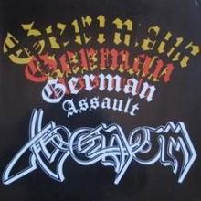 VENOM - GERMAN ASSAULT LP