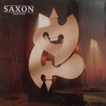 SAXON - DESTINY (LTD EDITION HALF & HALF COLOURED VINYL) LP (NEW)
