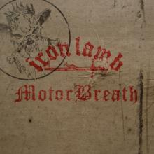 IRON LAMB/MOTORBREATH - SPLIT MLP (LTD EDITION 500 COPIES BLACK VINYL) 12