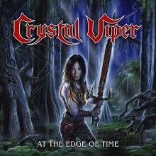 CRYSTAL VIPER - AT THE EDGE OF TIME (LTD EDITION 500 COPIES CRYSTAL CLEAR VINYL) 10