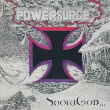 POWERSURGE - SNOW GOD (LTD HAND-NUMBERED EDITION 500 COPIES BLACK VINYL, GATEFOLD) LP