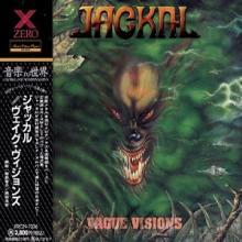 JACKAL - VAGUE VISIONS (JAPAN EDITION +OBI) CD