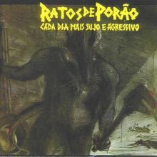 RATOS DE PORAO - CADA DIA MAIS SUJO E AGRESSIVO/DIRTY AND AGRESSIVE CD (NEW)
