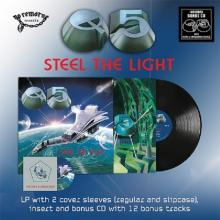 Q5 - STEEL THE LIGHT (LTD EDITION INCL. 2 COVER SLEEVES + EXTRA CD WITH 12 BONUS TRACKS) LP (NEW)