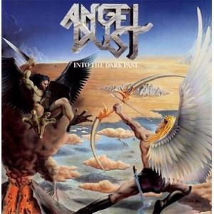 ANGEL DUST - INTO THE DARK PAST (FIRST EDITION PROMO COPY) LP
