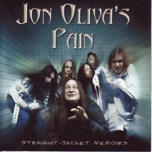 JON OLIVA'S PAIN - STRAIGHT - JACKET MEMOIRS CD