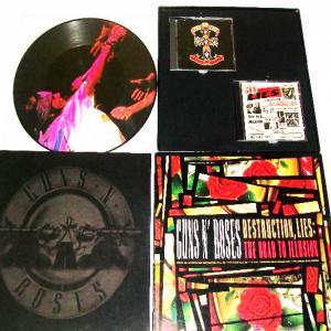 "GUNS N' ROSES - DESTRUCTION, LIES: THE ROAD TO ILLUSION (LTD EDITION BOX SET INCL.: 2CD, 12"" PICTURE VINYL +POSTER) 2CD/12"" LP"