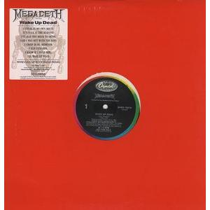 "MEGADETH - WAKE UP DEAD 12"" (PROMO) LP"
