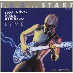 V/A - 1. 2. 3. ... START - LIVE (EDDA MUVEK, P. BOX, KARTHAGO) LP