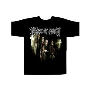 CRADLE OF FILTH - JESUS SAVES T-SHIRT (SIZE:M) (NEW)