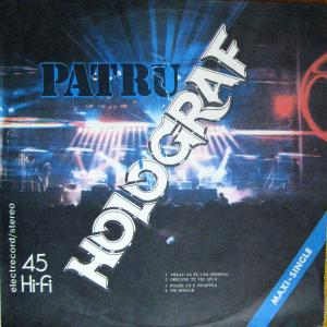 """HOLOGRAF - PATRU 12"""" LP"""