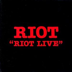 RIOT - RIOT LIVE (JAPAN EDITION+OBI) CD