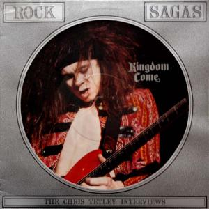 KINGDOM COME - ROCK SAGAS - INTERVIEW (PICTURE DISC) LP (NEW)