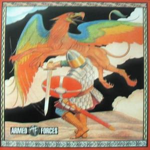 ARMED FORCES - SAME (O.P.M. RECORDS, LTD HAND-NUMBERED EDITION 100 COPIES COLOUR VINYL) LP