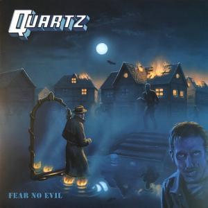 QUARTZ - FEAR NO EVIL (LTD EDITION 300 COPIES BLACK VINYL) LP (NEW)
