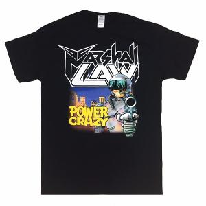 MARSHALL LAW - POWER CRAZY (SIZE: M) T-SHIRT (NEW)