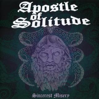 APOSTLE OF SOLITUDE - SINCEREST MISERY (LTD EDITION 50 COPIES COLOUR VINYL +PATCH +STICKER & CD, GATEFOLD) 2LP