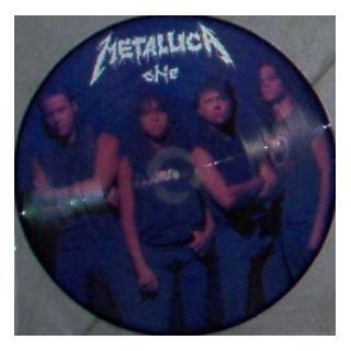 "METALLICA - ONE (PROMO PICTURE DISC) 10"" LP"